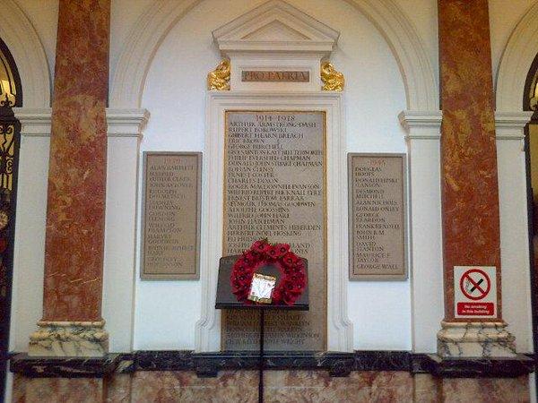RCM memorial